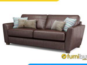 Ghế sofa da dạng văng nhỏ FB20015